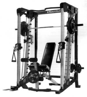 Review Of The Nautilus Nt Cc1 Smith Machine With Cable